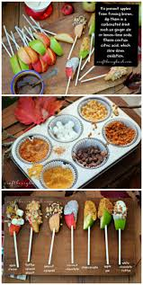 caramel apple bar fun for any fall party plus a tip for how to