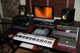 How To Build A Home Studio Desk by Gorgeous Home Studio Desk On Home Studio Desk Image Home Studio