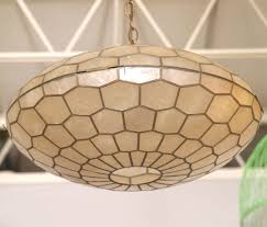 Capiz Light Pendant Pendant Lighting Ideas Top Capiz Shell Pendant Light Shade