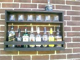 diy liquor cabinet ideas wall liquor cabinet hopblast co