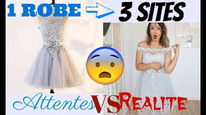 aliexpress vs wish attente vs realite 1 robe 3 sites joom wish aliexpress try