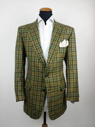 daks sakko gr 52 tweed wolle kariert 42r blazer coat windowpane