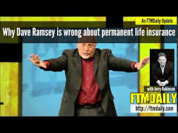 Dave Ramsey Meme - why dave ramsey is wrong about permanent life insurance youtube