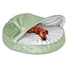 Hooded Dog Bed Cave Dog Bed Large Washable Cover Cozy Hooded Burrow Brown