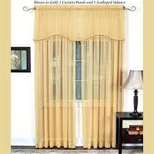Gold Shimmer Curtains Gold Shimmer Curtains Sheer Woodio