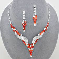 red crystal necklace set images 30 best shades of red from www glitzyglamour co uk images on jpg