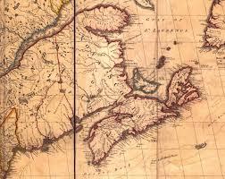 Nova Scotia Canada Map by Historical Maps