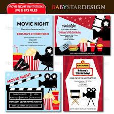 best 25 movie night invitations ideas on pinterest movie party