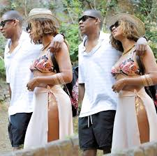 beyonce shows off new tattoos while in portofino italy for her