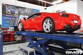 Ferrari 458 Upgrades - gmg racing ferrari f458 in for subtle mods carbon wrap novitec