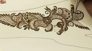 modern arabic traditional mehendi design step by step mehndi
