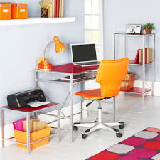 Cool Office Space Ideas by Home Office Design Ideas Decorating For Space Desks At Wood