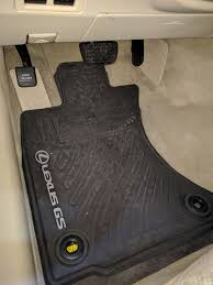 lexus floor mat hooks rubber floor mats clublexus lexus forum discussion