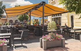 Outdoor Retractable Awnings Restaurant Awnings Motorized Retractable Denver Shade Company