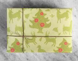 flat christmas wrapping paper christmas evergreen wrapping paper gift wrap flat