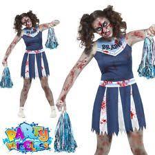 Halloween Costumes Dead Cheerleader Teen Girls Halloween Costumes Ebay