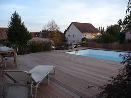 amenagement autour piscine hors sol arkobois u2014 ipé sur structure porteuse autour de piscine hors sol