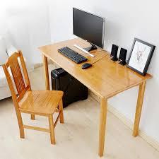 bureau simple santé et protection de l environnement en bois ordinateur de bureau