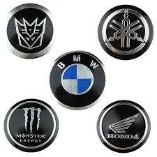 bmw car logo car logo metal stickers brands include bmw yamaha honda