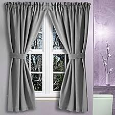 Bed Bath And Beyond Curtains And Drapes Bath Window Curtains Window Valances Curtain Panels U0026 More