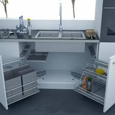 under kitchen sink cabinet modern spacious kitchen features very