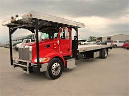 car carrier truck peterbilt 337 four car hauler www travisbarlow com towing