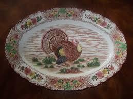 turkey platters thanksgiving vintage turkey platters vintage turkey platter thanksgiving by