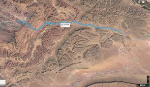 Google Maps Running Route by Morocco Maps Sahara Overland