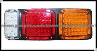 led brake lights for trucks 12v 24v led combination tail light for truck trailer application