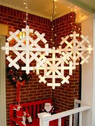 outdoor hanging snowflake lights giant snowflake light up marquee tutorials holidays and craft