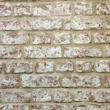arthouse rustic brick wallpaper this heavy weight rustic brick