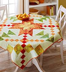 beautiful table cloth design quilts as tablecloths the bright ideas blog