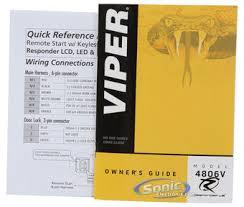 viper 4806v 2 way led remote start transmitter w 1 mile range