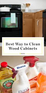 best thing to clean grease kitchen cabinets how to clean wood cabinets kitchn
