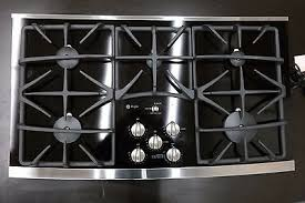 Ge 36 Gas Cooktop Ge Profile Jgp970sekss 36 Inch Gas Cooktop With 5 Sealed Burners