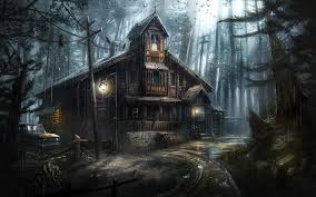 halloween haunted house background haunted house full hd wallpaper and background 1920x1200 id 736518