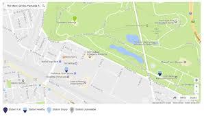 Patco Map Transportation U0026 Parking The Mann Center
