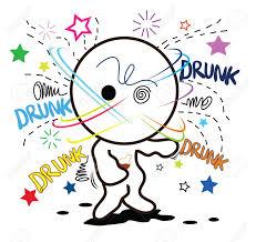 cartoon dronken als zwaar drinken alcohol zo veel opgeheven