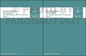 1971 1980 mercedes 3 5 u0026 4 5 m116 m117 engine repair shop manual