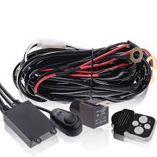 Led Light Bar Wiring Harness by Led Light Bar Wiring Harnesses Wireless Wired Uncle Wiener U0027s