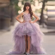 flower girl dresses aliexpress buy 2017 new arrival purple flower girl dresses