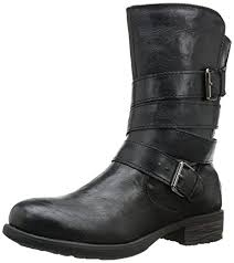 womens boots on amazon amazon com rage s islet motorcycle buckle mid calf low