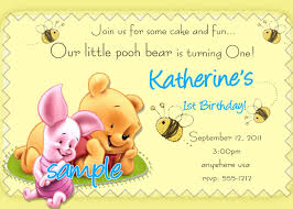 Invitation Cards For First Birthday First Birthday Invitations In Marathi Template Simple 1st Birthday