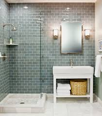 glass tile bathroom ideas best 25 glass tile bathroom ideas only on blue glass