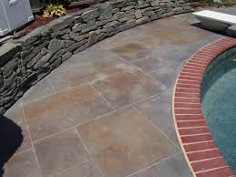 Colored Concrete Patio Pictures Stunning Stamped Concrete Patio Various Choices To Beautify