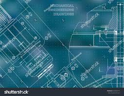 blueprints mechanical construction technical design cover stock
