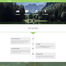 simple free web templates animated website templates