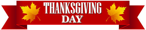thanksgiving day banner transparent png clip image gallery
