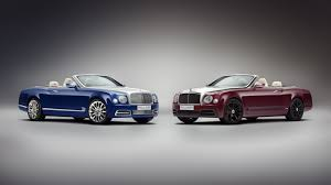 bentley showroom ultra exclusive bentley grand convertible by mulliner unveiled