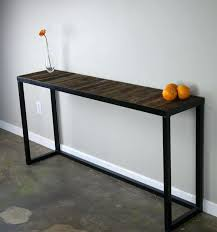 Diy Bistro Table Console Table Iron U2013 Launchwith Me